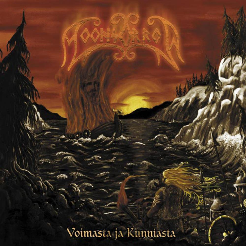 Voimasta Ja Kunniasta by MOONSORROW album cover