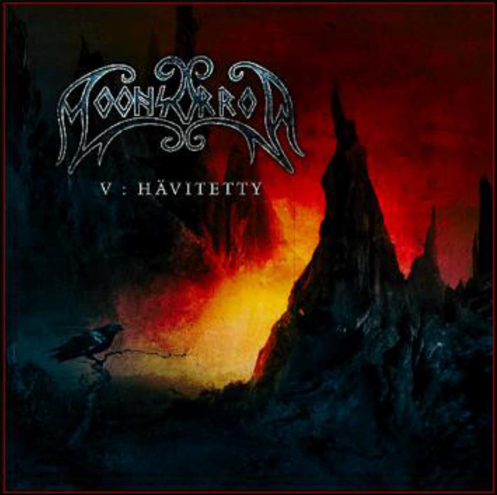 Viides Luku - Hävitetty by MOONSORROW album cover