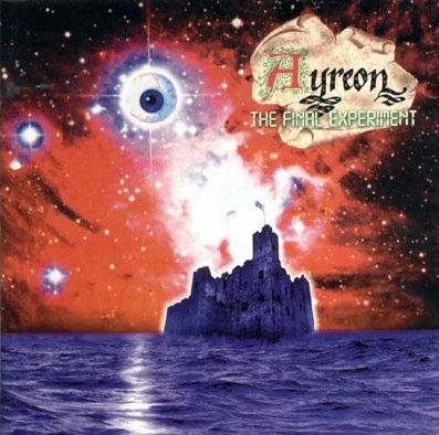 Ayreon - The Final Experiment CD (album) cover
