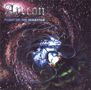 Ayreon - The Universal Migrator part two: Flight Of The Migrator CD (album) cover
