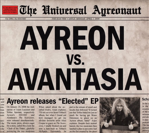 Ayreon The Universal Ayreonaut album cover
