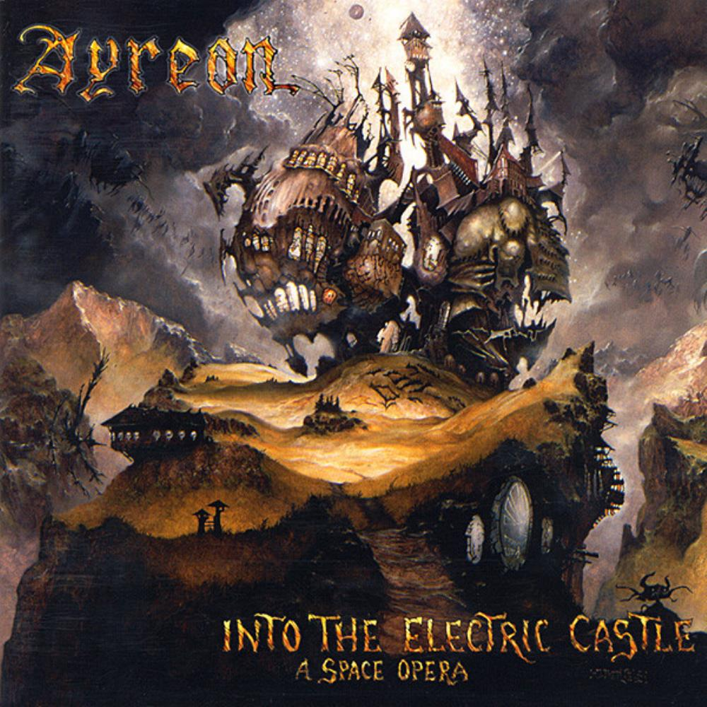 Ayreon - Into The Electric Castle CD (album) cover