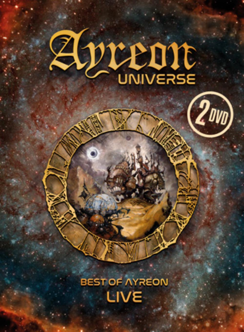Ayreon Universe : Best of Ayreon Live by AYREON album cover