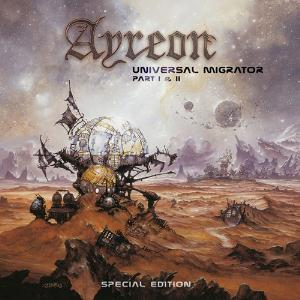 Universal Migrator Part I & II by AYREON album cover