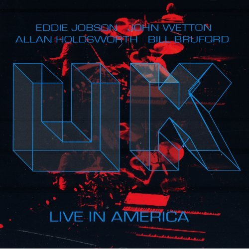 UK Live in America album cover