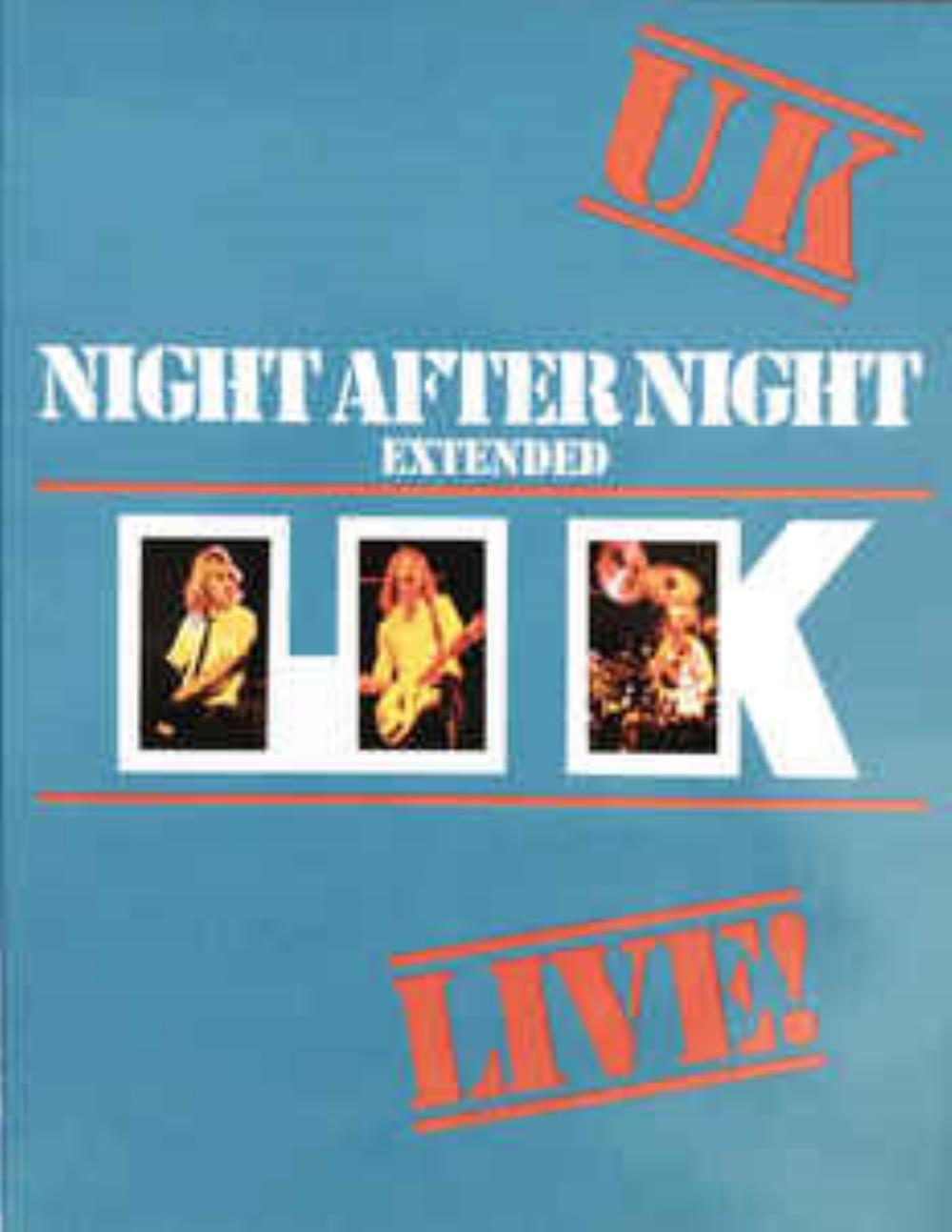 Night After Night Extended by UK album cover