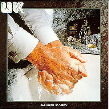 UK - Danger Money  CD (album) cover