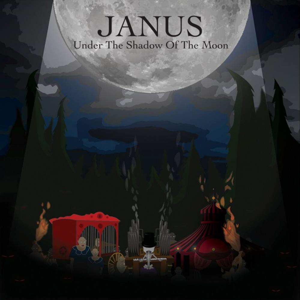 Janus Under The Shadow Of The Moon album cover