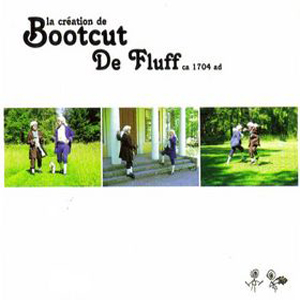 Bootcut - De Fluff CD (album) cover