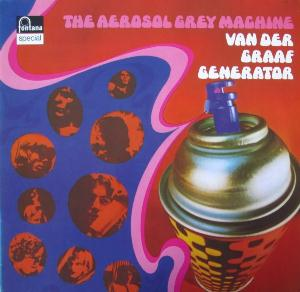 Van Der Graaf Generator - The Aerosol Grey Machine  CD (album) cover