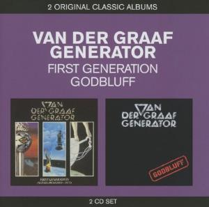 First Generation / Godbluff by VAN DER GRAAF GENERATOR album cover