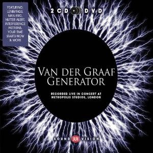 Van Der Graaf Generator Recorded Live in Concert at Metropolis Studios, London album cover