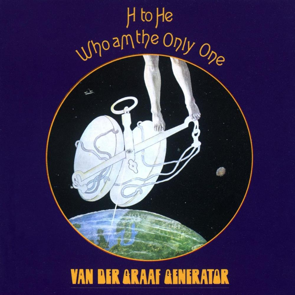 H To He, Who Am The Only One by VAN DER GRAAF GENERATOR album cover