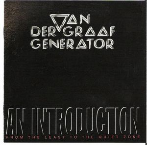 Van Der Graaf Generator An Introduction album cover