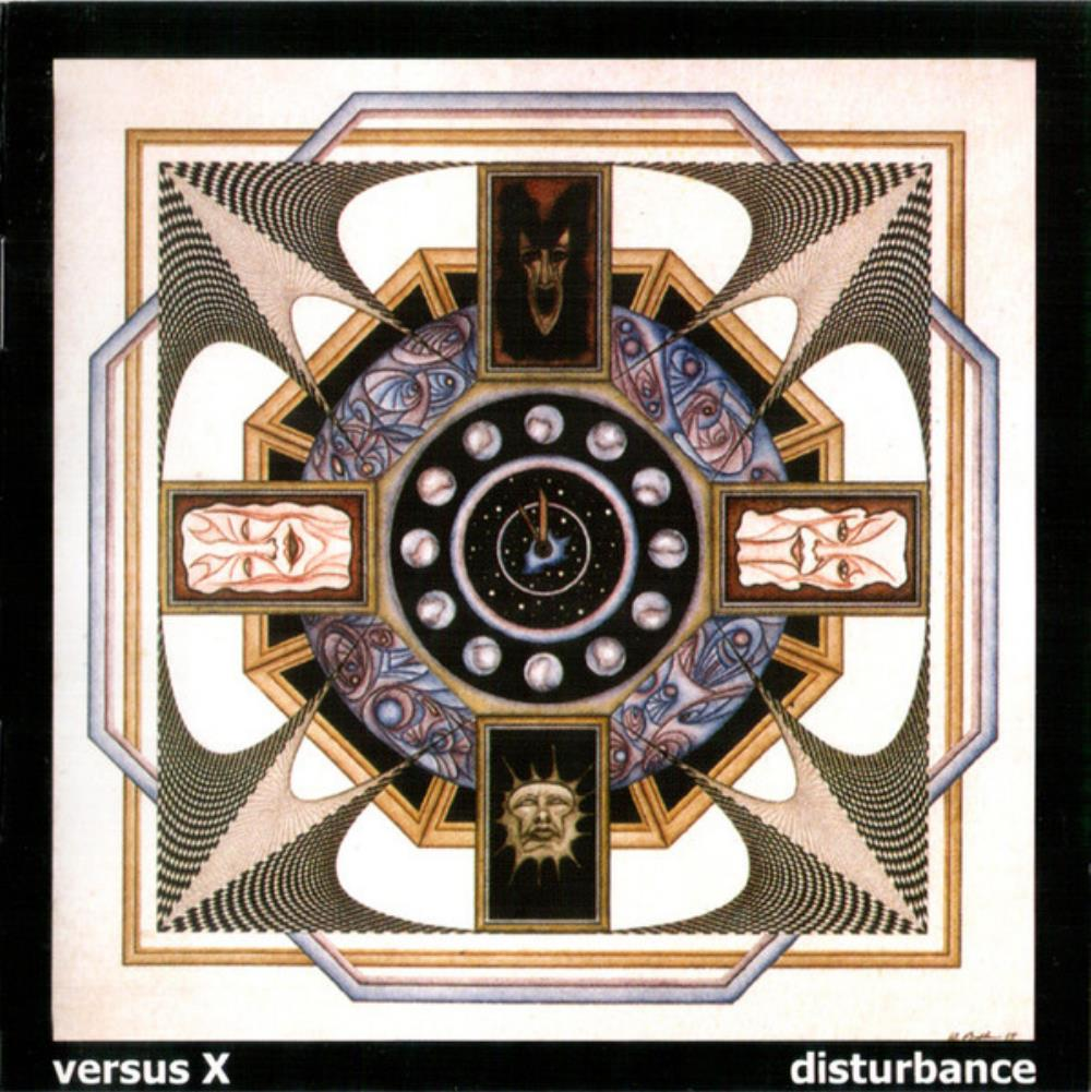 Disturbance by VERSUS X album cover