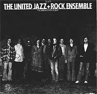 The  United Jazz And Rock Ensemble - THE BREAK EVEN POINT CD (album) cover