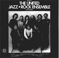 The  United Jazz And Rock Ensemble - TEAMWORK CD (album) cover