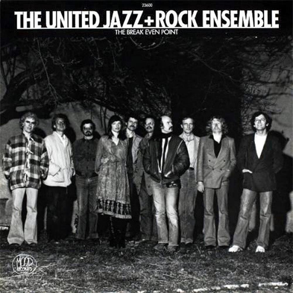 The Break Even Point by UNITED JAZZ + ROCK ENSEMBLE,THE album cover