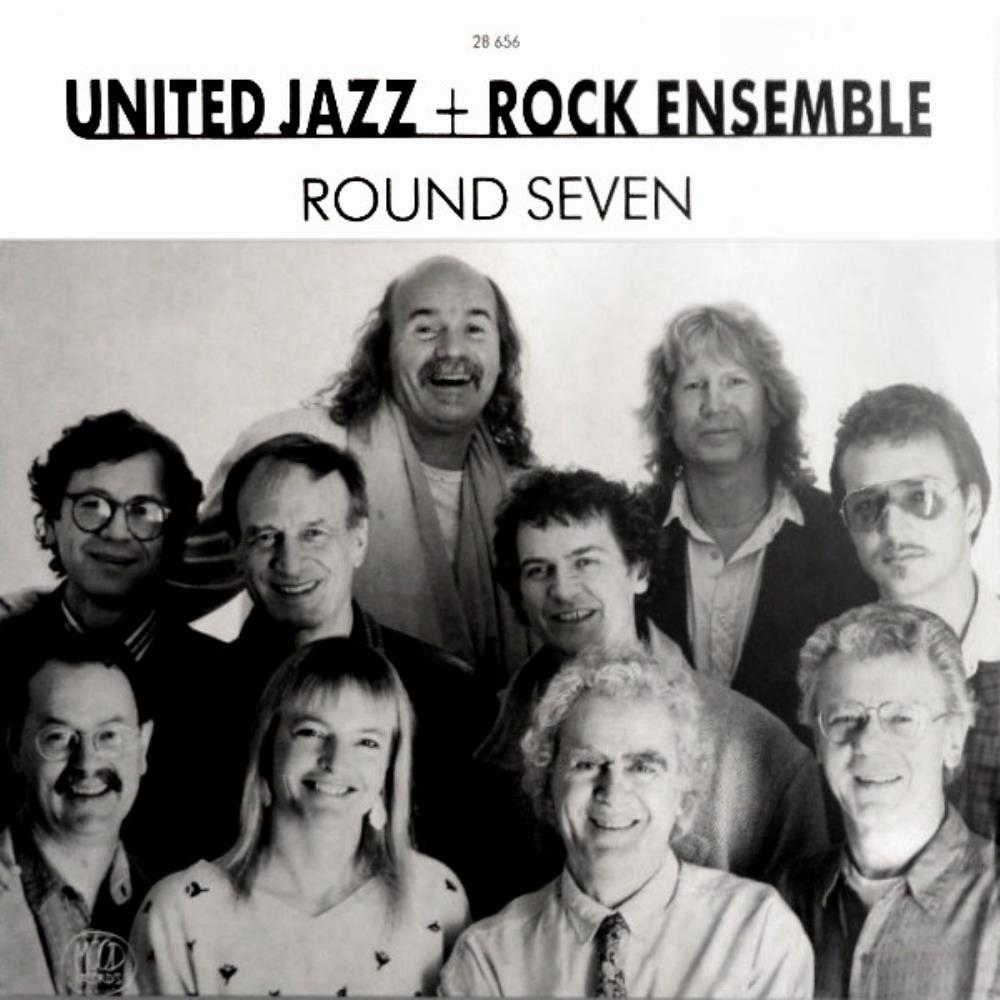 The United Jazz + Rock Ensemble - Round Seven CD (album) cover