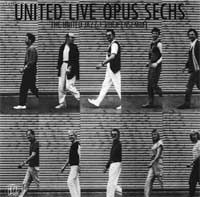 The  United Jazz And Rock Ensemble UNITED LIVE OPUS SECHS album cover