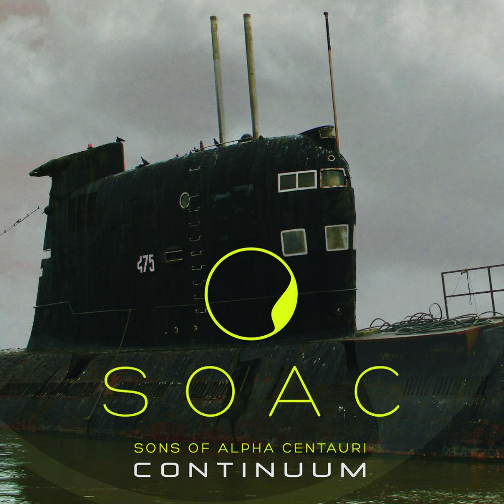 Continuum by SONS OF ALPHA CENTAURI album cover