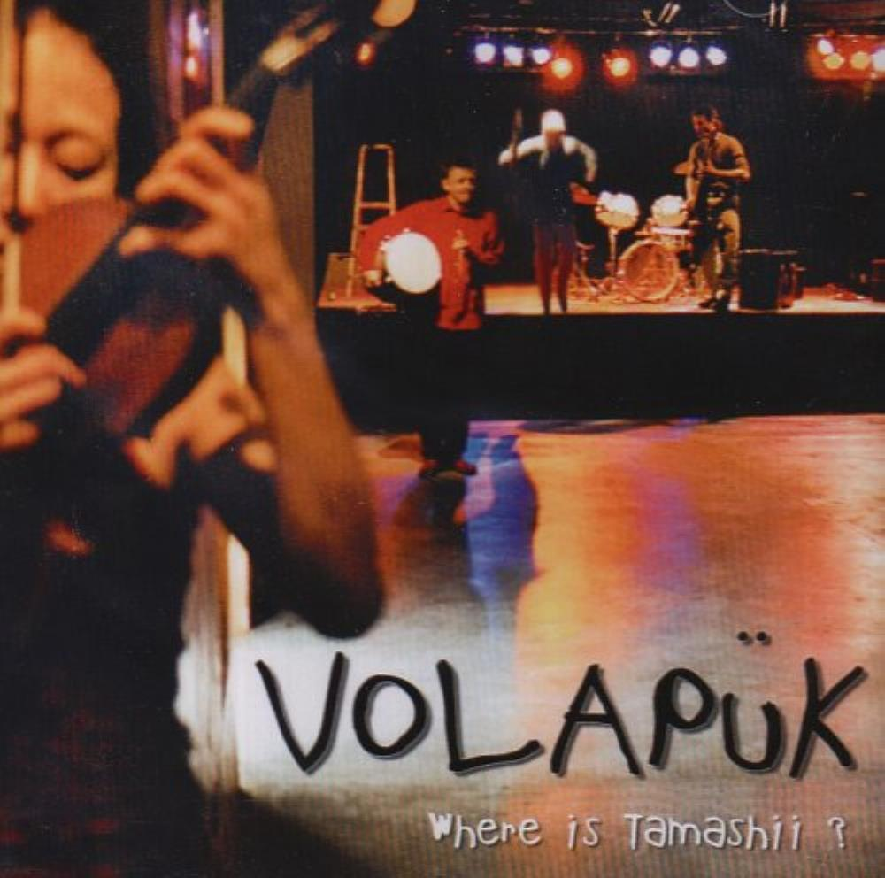Volapük - Where Is Tamashii ? CD (album) cover