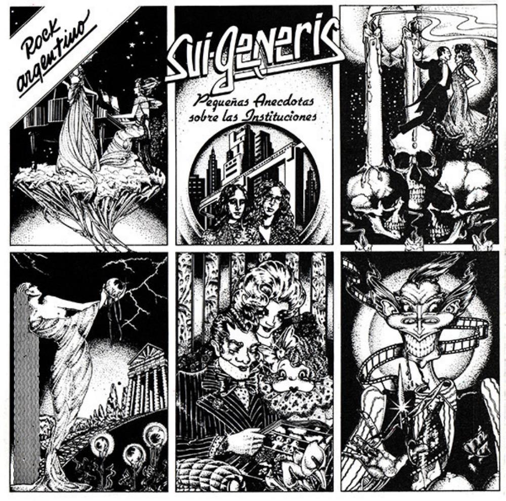 Pequeñas Anécdotas Sobre Las Instituciones by SUI GENERIS album cover