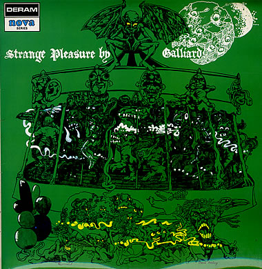 Strange Pleasure By Galliard by GALLIARD album cover