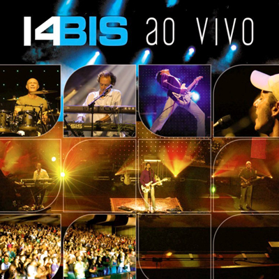 14 Bis - Ao Vivo CD (album) cover