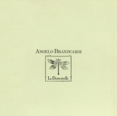 Angelo Branduardi La Demoiselle album cover
