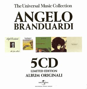 Angelo Branduardi Album Originali album cover