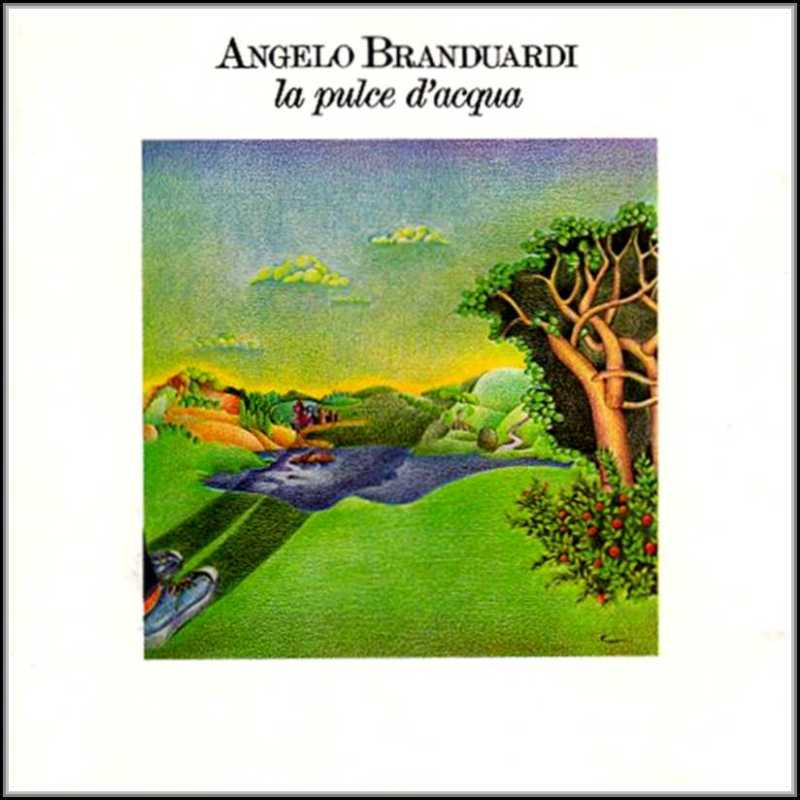 Angelo Branduardi - La pulce d'acqua CD (album) cover