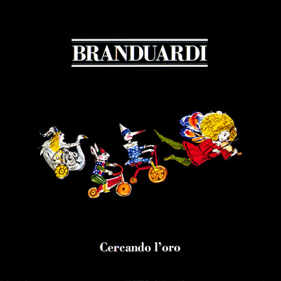 Angelo Branduardi - Cercando l'oro CD (album) cover