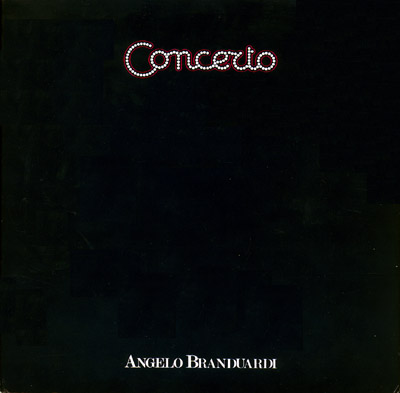 Angelo Branduardi - Concerto CD (album) cover