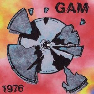 Gam - GAM 1976 CD (album) cover