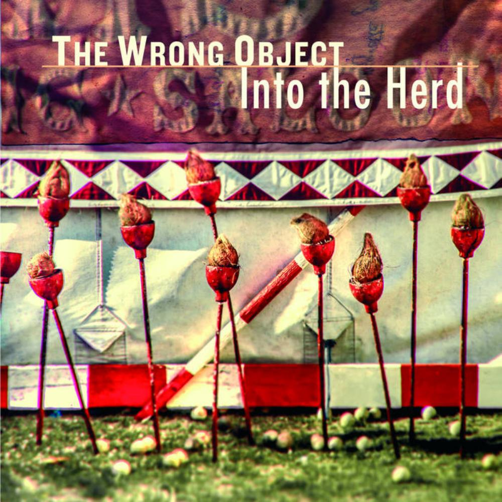 Into The Herd by WRONG OBJECT, THE album cover