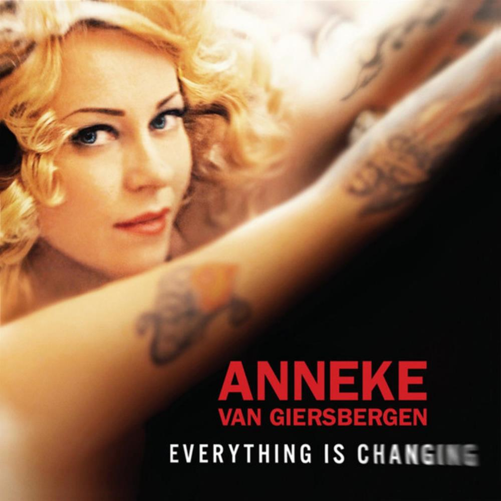 Anneke Van Giersbergen - Everything Is Changing CD (album) cover