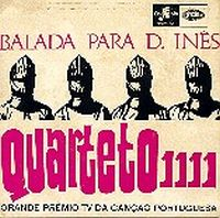 Balada para D. In�s by QUARTETO 1111 album cover