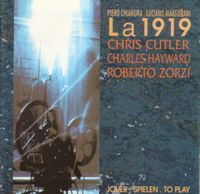 La 1919 - Jouer, Spielen, To Play CD (album) cover