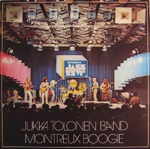 Montreux Boogie (Jukka Tolonen Band) by TOLONEN, JUKKA album cover