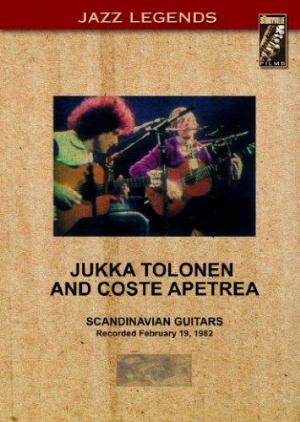 Jukka Tolonen - Jukka Tolonen and Coste Apetrea CD (album) cover