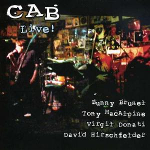 CAB Cab Live album cover