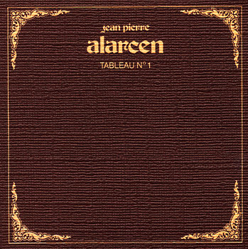 Jean-Pierre Alarcen Tableau No. 1 album cover