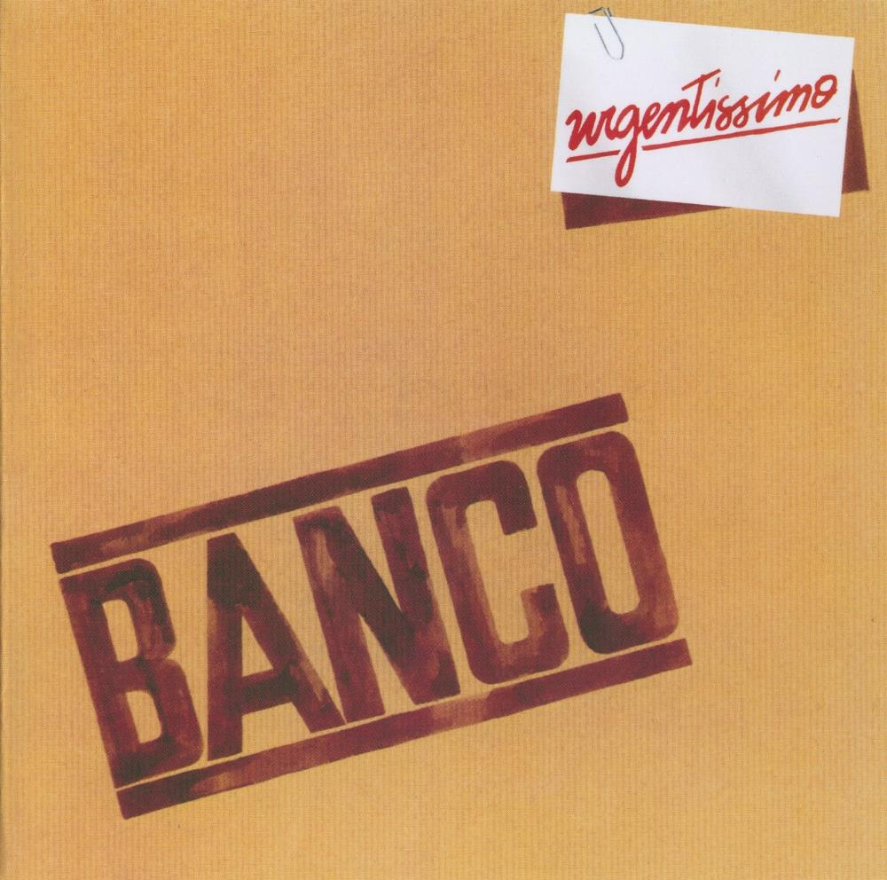 Banco Del Mutuo Soccorso - Urgentissimo CD (album) cover