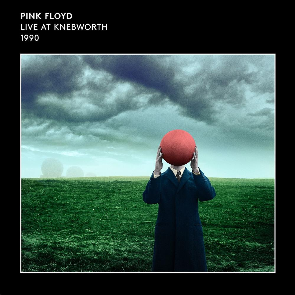 Live at Knebworth 1990 by PINK FLOYD album cover