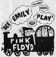 Pink Floyd See Emily Play album cover