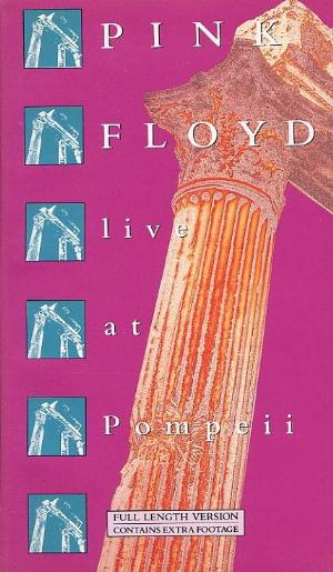 Pink Floyd Live At Pompeii album cover