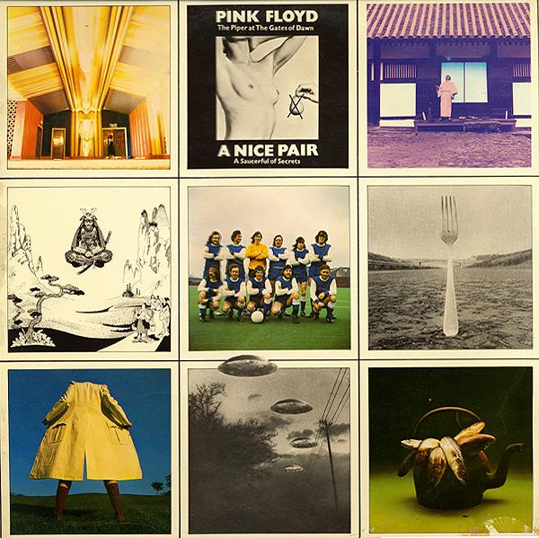 Pink Floyd - A Nice Pair CD (album) cover