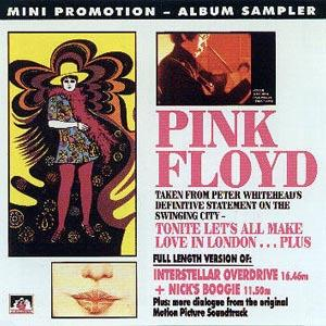 Pink Floyd - Tonite Let's All Make Love In London CD (album) cover