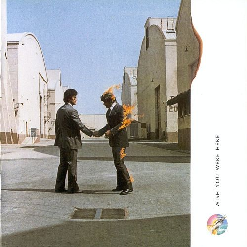 Pink Floyd Wish You Were Here album cover
